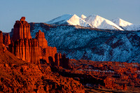 Fisher Towers and La Sals: Moab