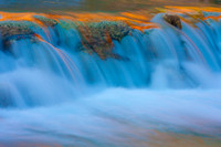 Havasu Falls Detail: Grand Canyon