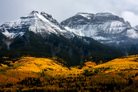 Fall along the Sneffels Range: Ridgeway